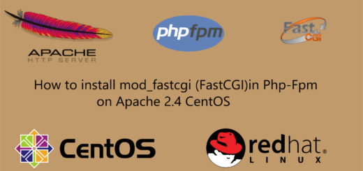 How to install mod_fastcgi (FastCGI)in Php-Fpm on Apache 2 4